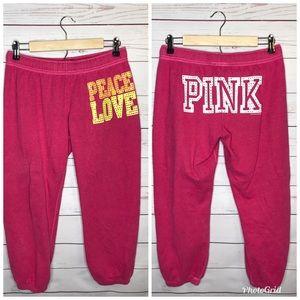 Victoria Secret Pink Capri Size Small